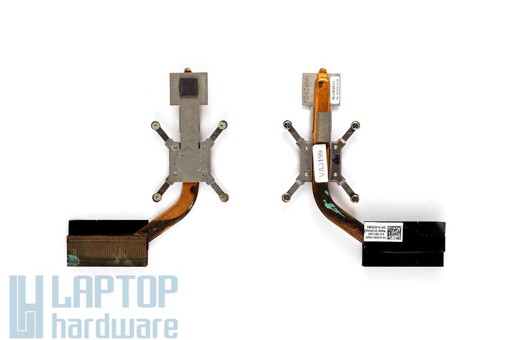 Dell Vostro 1014, 1015 laptophoz használt CPU hűtőborda (0CD0RJ)