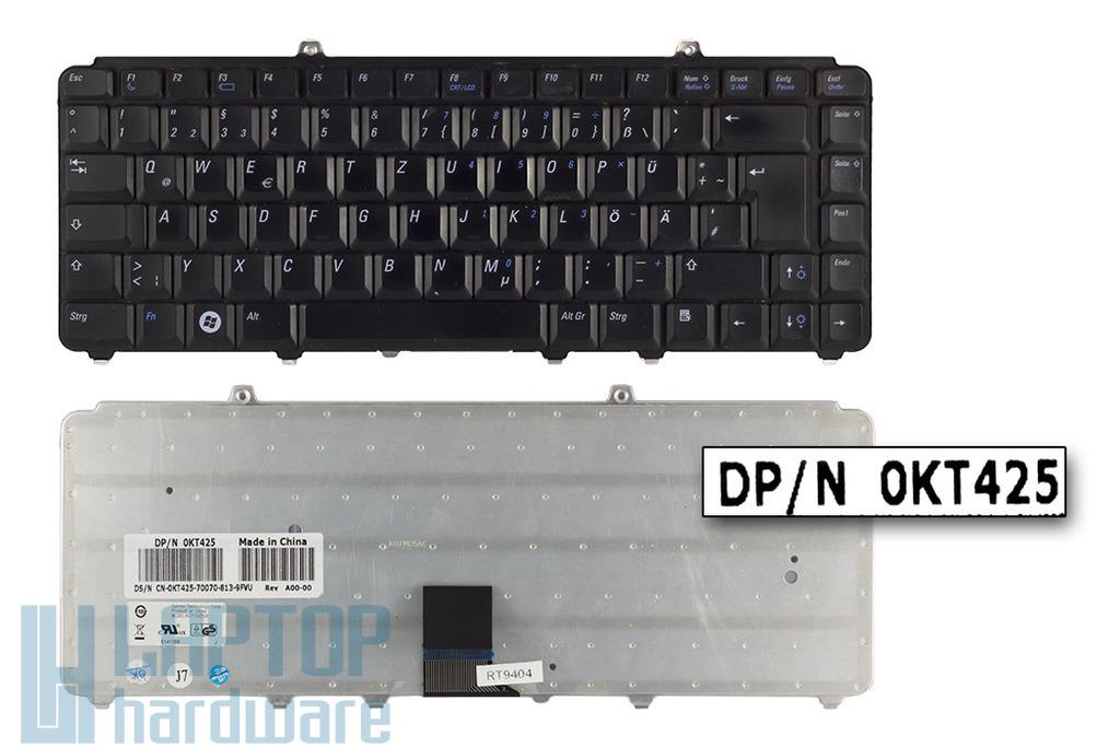 Dell Vostro 1400, 1500 használt német fekete laptop billentyűzet (0KT425)