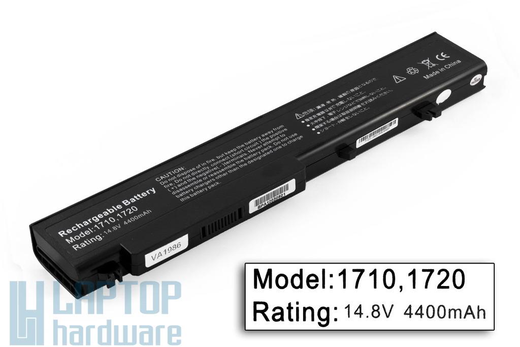 Dell Vostro 1710, 1720, 1721 helyettesítő új 8 cellás laptop akku/akkumulátor (P721C)