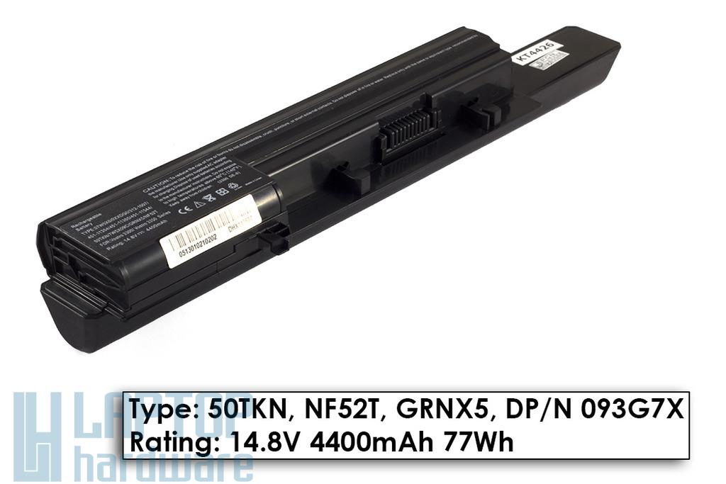 Dell Vostro 3300, 3350 helyettesítő új 8 cellás laptop akku/akkumulátor (50TKN, NF52T, GRNX5)