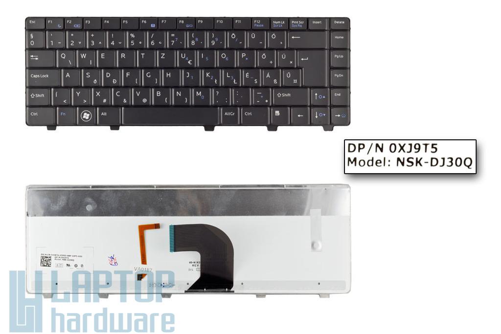 Dell Vostro 3300, 3400, 3500 gyári új magyar háttér-világításos laptop billentyűzet (0XJ9T5)