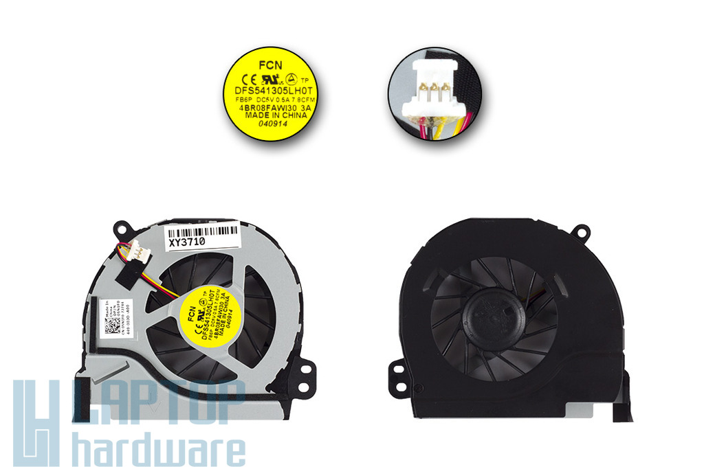 Dell Vostro 3460,  Inspiron 14R gyári új laptop hűtő ventilátor (05N1F0)