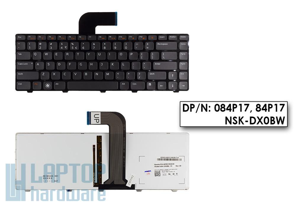 Dell XPS L502X világítós US angol billentyűzet, DP/N: 084P17