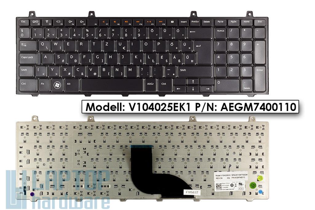 Dell XPS L701, L701X magyar laptop billentyűzet, 03345H