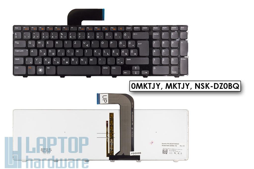 Dell XPS L702X, Vostro 3750 gyári új háttér-világítós magyar laptop billentyűzet (0MKTJY)