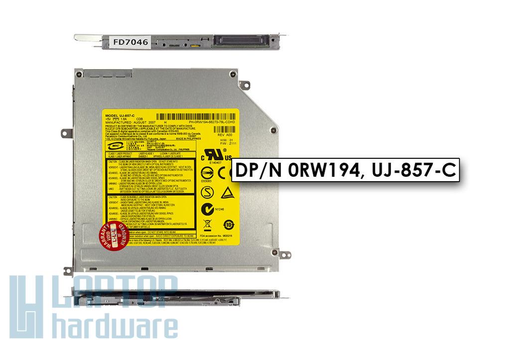Dell XPS M1330 használt slot in Slim IDE DVD író (0RW194)
