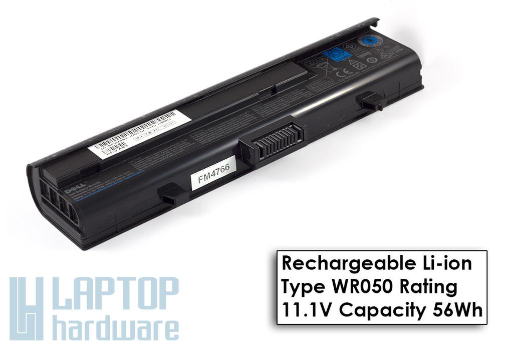 Dell XPS M1330, Inspiron 1328 Gyári Új 6 cellás laptop akku/akkumulátor  TYPE WR050, DP/N FW302