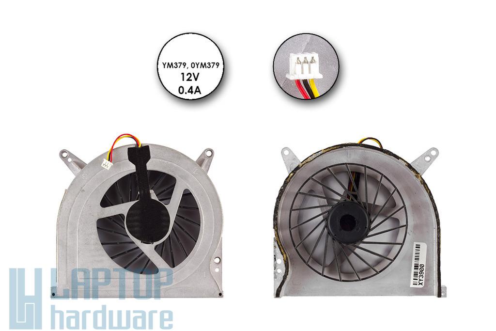 Dell XPS M1730 laptophoz használt bal oldali VGA hűtő ventilátor (YM379)