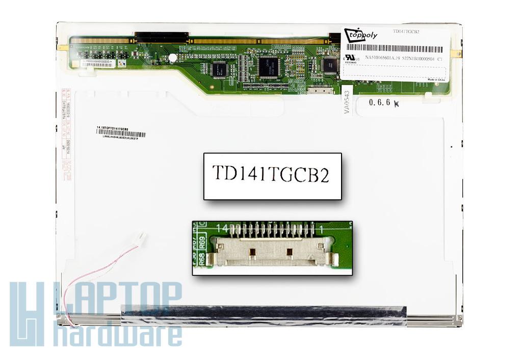 ECS, Patriot 320 1024x768 használt matt kijelző TD141TGCB2