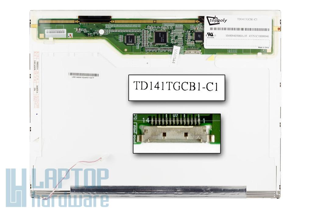 ECS, Patriot 320 1024x768 használt matt kijelző TD141TGCB1-C1
