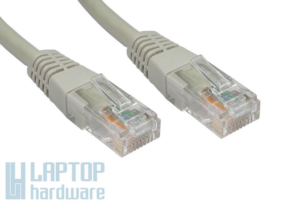 Egyedileg méretre készített CAT.5E szürke UTP Patch kábel, 200Ft/méter