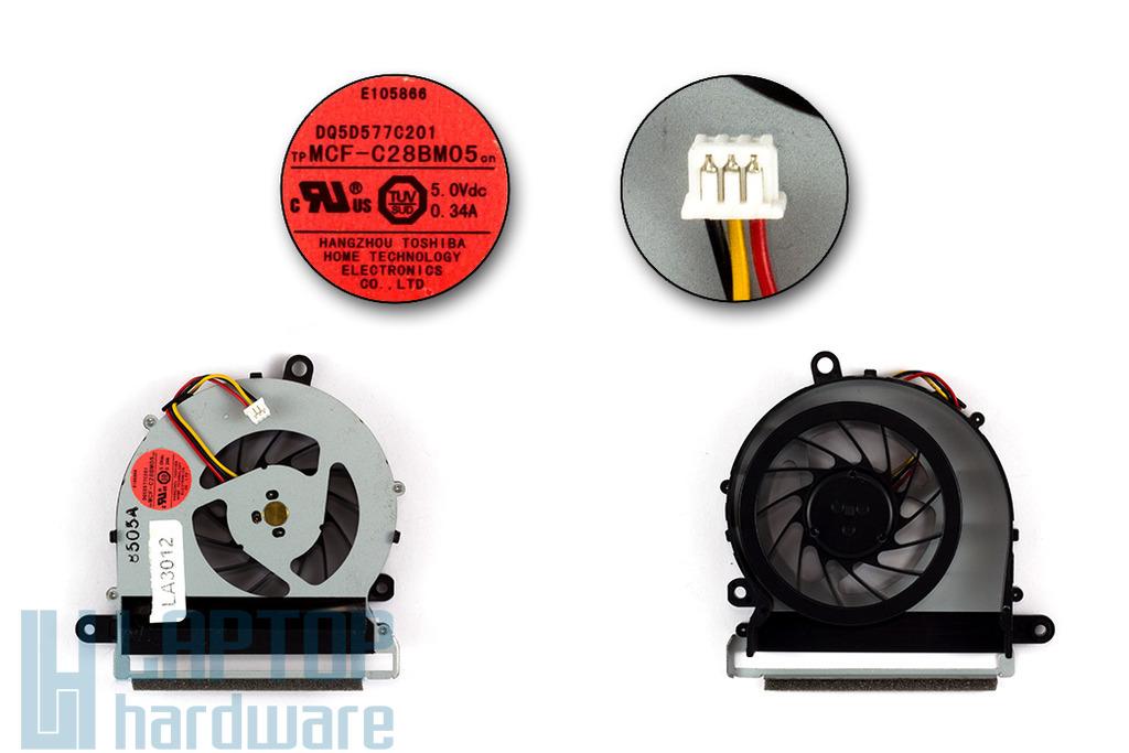 Fujitsu-Siemens LifeBook S7220 gyári új laptop hűtő ventilátor (MCF-C28BM05)