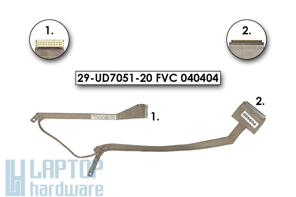 Fujitsi-Siemens Amilo D1840,D1845 A1630 laptophoz használt LCD kábel,