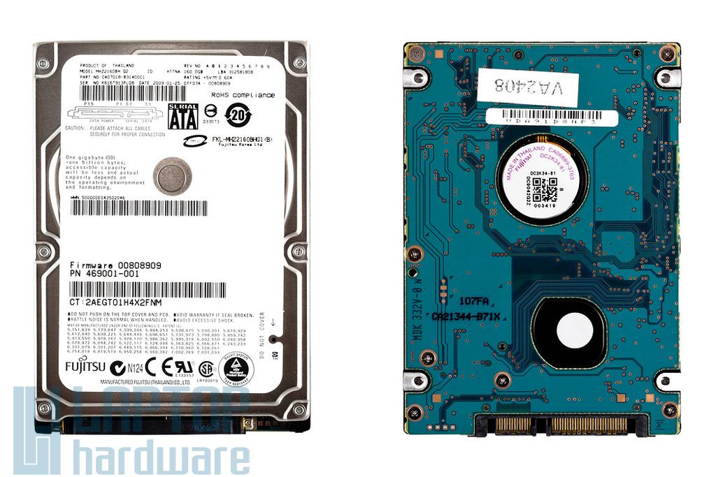 SATA (1.5Gbit/s) 2,5'' 160GB 4200RPM használt laptop winchester, HDD