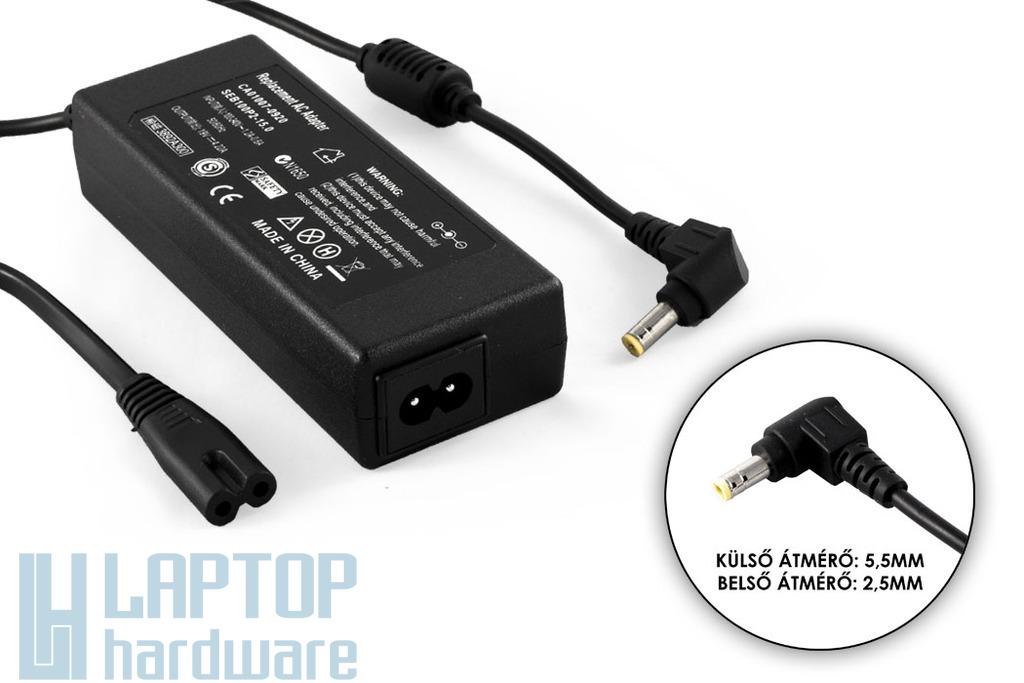 Fujitsu 19V 4.22A 80W helyettesítő új laptop töltő (FMV-AC325 , CP293664-01)