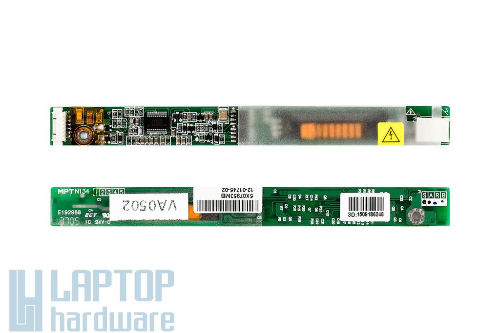 Fujitsu Amilo L7300,Pro V2010 laptophoz használt LCD Inverter(N199,N134,12-01745-02)