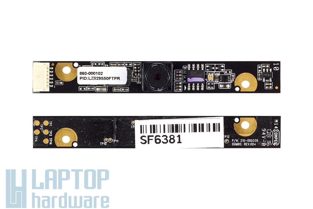 Fujitsu Amilo Pa3515, Ms2242 laptopokhoz használt Webkamera (56.18011.071)
