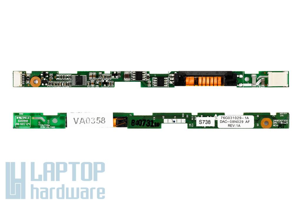 Fujitsu Amilo Xi2428,Xi2528, Pi3525,Pi2540 LCD Inverter DAC-08N029