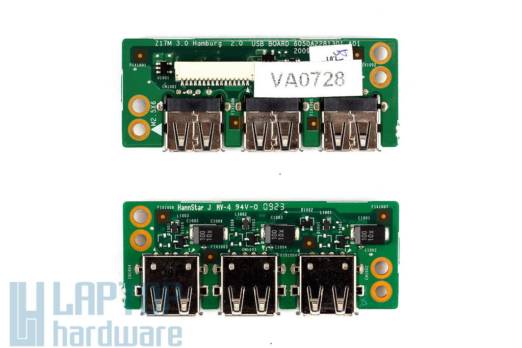 Fujitsu Esprimo V6555, Medion MD96290 használt USB panel (6050A2281301)