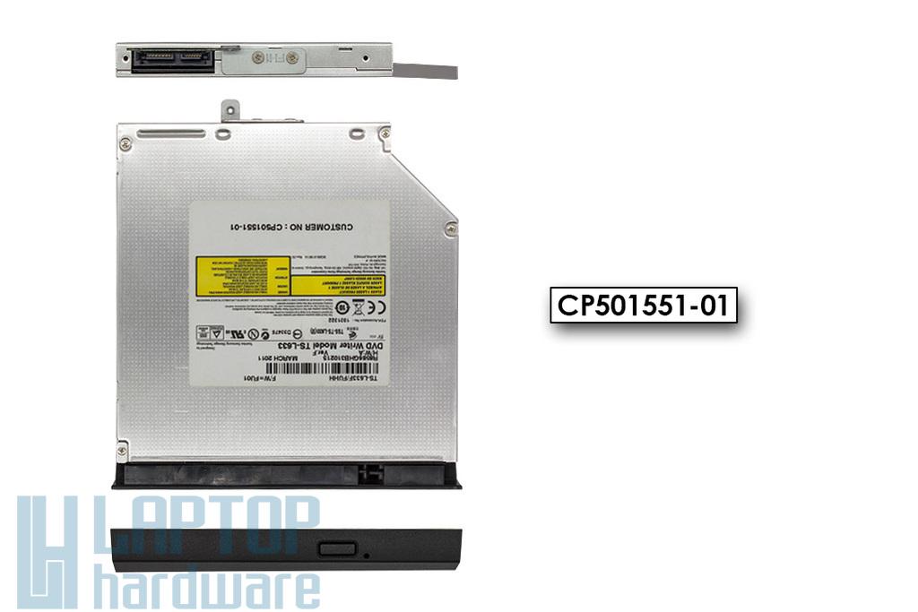 Fujitsu LifeBook A531, AH531, T901 használt laptop DVD-író előlappal (TS-633, CP501551-01)