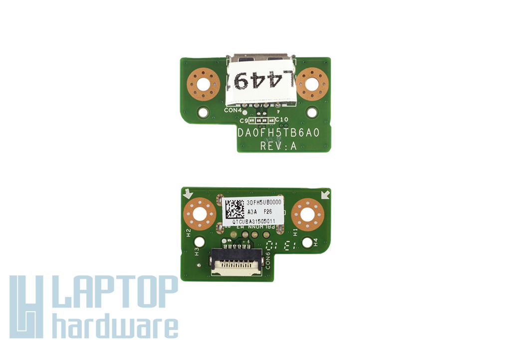 Fujitsu LifeBook AH531 laptophoz gyári új USB panel (DA0FH5TB6A0)