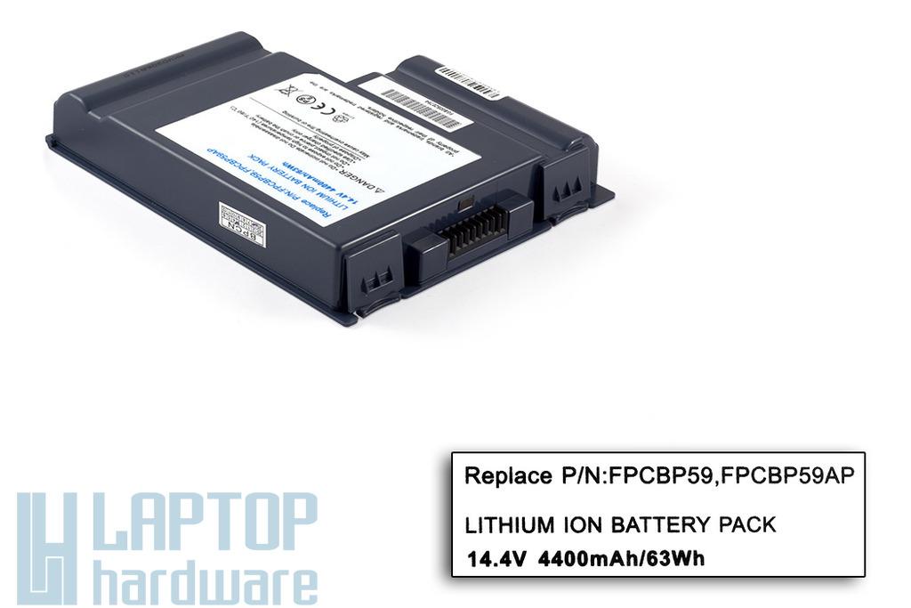Fujitsu LifeBook C1110, E4010D, E7110 helyettesítő új laptop akku/akkumulátor (FPCBP59)