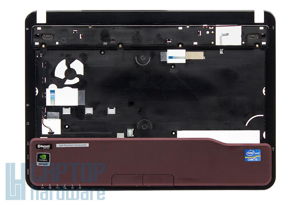 """Fujitsu Lifebook LH532 használt """"B"""" kategóriás vörös laptop felső fedél touchpaddal, hangszórókkal (EAFJ8007010, 38FJ8TCJT40)"""