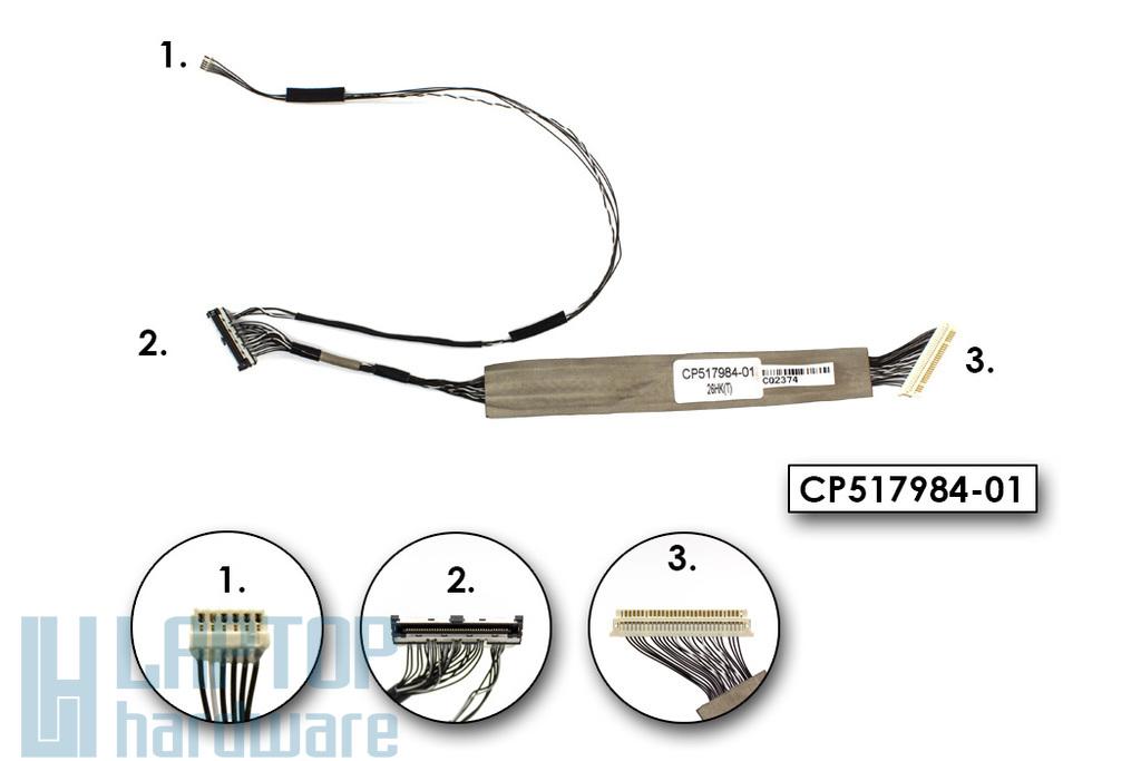 Fujitsu Lifebook P701 gyári új laptop LCD és kamera kábel (CP517984-01)