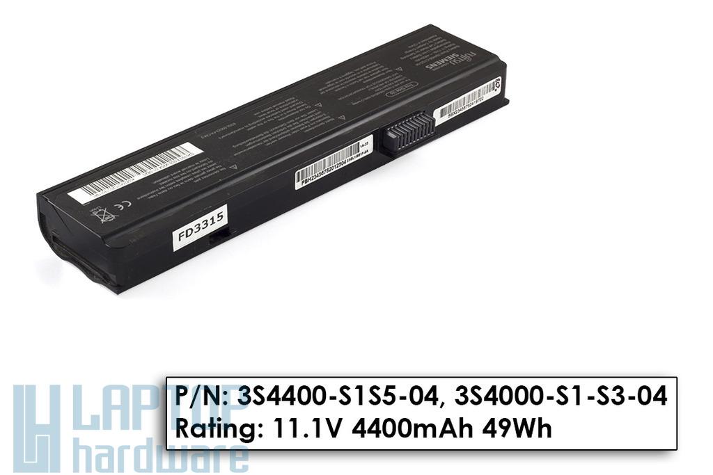 Fujitsu-Siemens Amilo 3S4400-C1S5-04 használt gyári 80%-os laptop akkumulátor