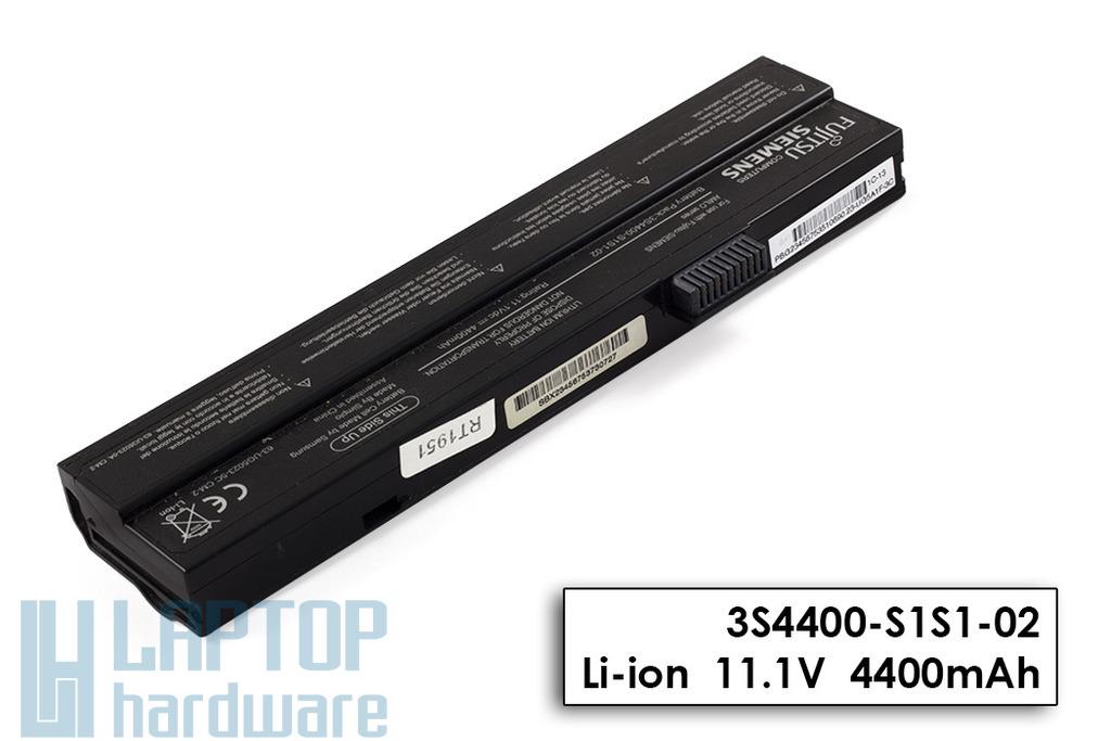 Fujitsu-Siemens Amilo A1640, M1425, Amilo Pro V2020 használt 6 cellás 50%-os laptop akku/akkumulátor (3S4400-S1S1-02)