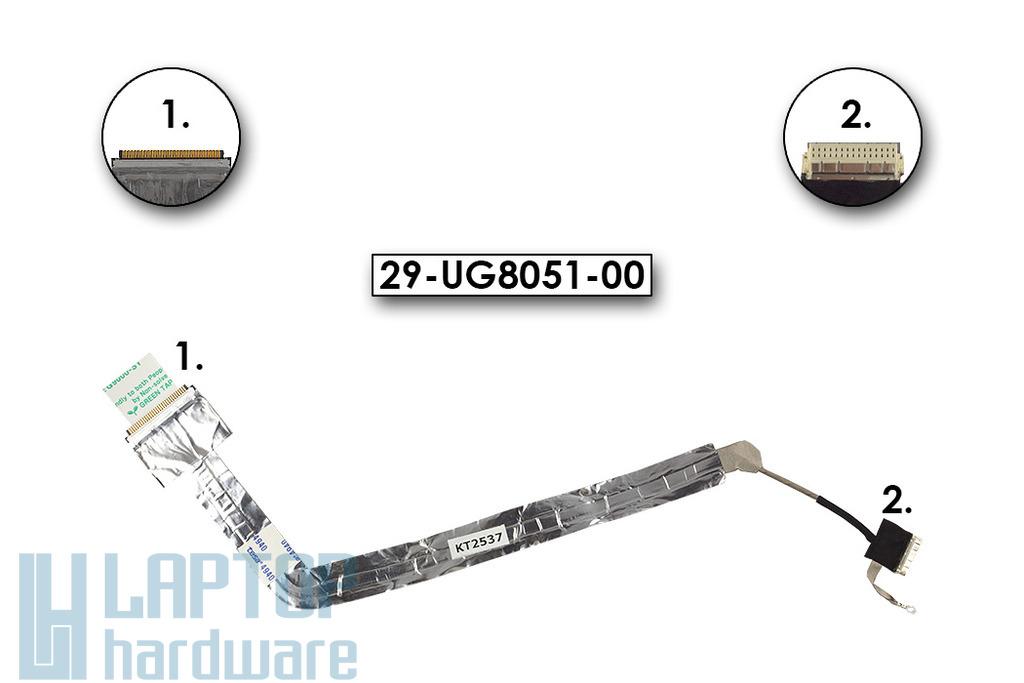 Fujitsu - Siemens Amilo A1645 gyári új laptop LCD kábel, 29-UG8051-00