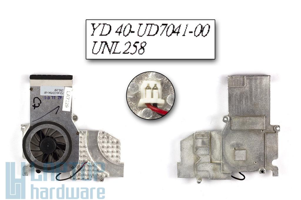 Fujitsu-Siemens Amilo D1840, D1845 használt laptop hűtő ventilátor (40-UD7710-00)
