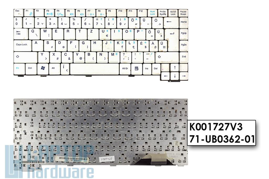 Fujitsu-Siemens Amilo EL sorozat használt magyar laptop billentyűzet (K001727V3)