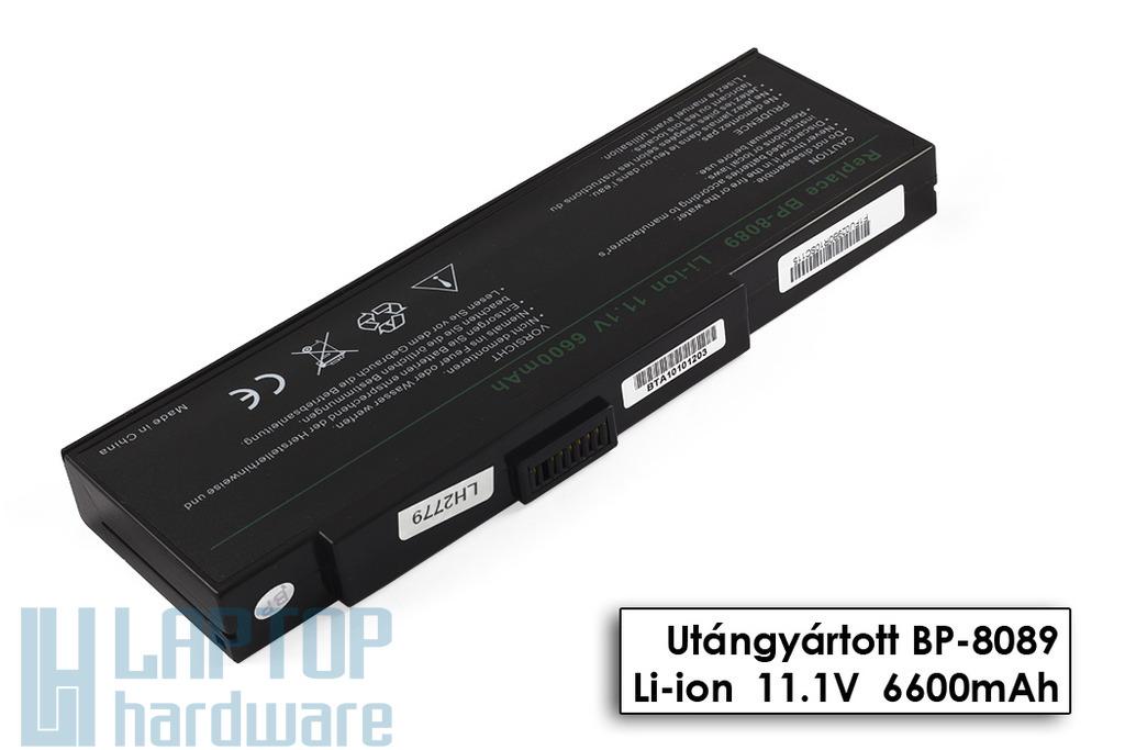 Fujitsu-Siemens Amilo K7600, 7600D, K7610, K7620 helyettesítő új 9 cellás laptop akku/akkumulátor (BP-8089)