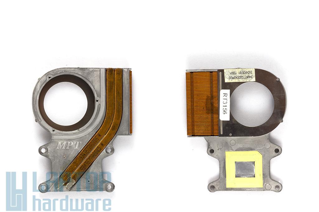 Fujitsu-Siemens Amilo K7600 laptophoz használt hűtőborda, hőelvezető cső (340677000043R00)