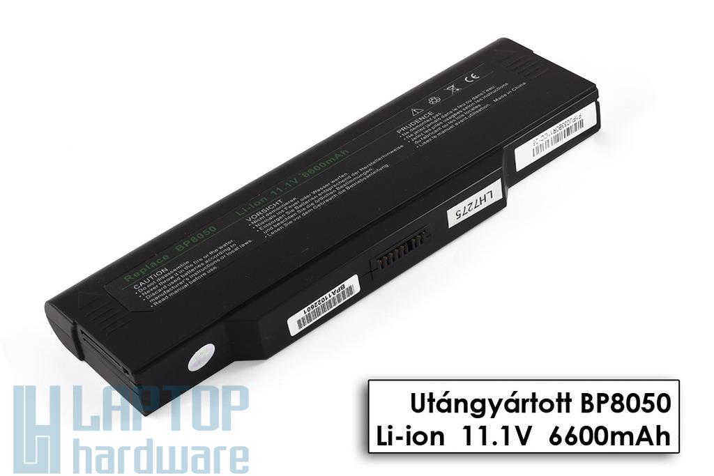 Fujitsu-Siemens Amilo L1300, L7310, L7310GW, L7310W, M1420 helyettesítő új 9 cellás laptop akku/akkumulátor, BP-8050(P)