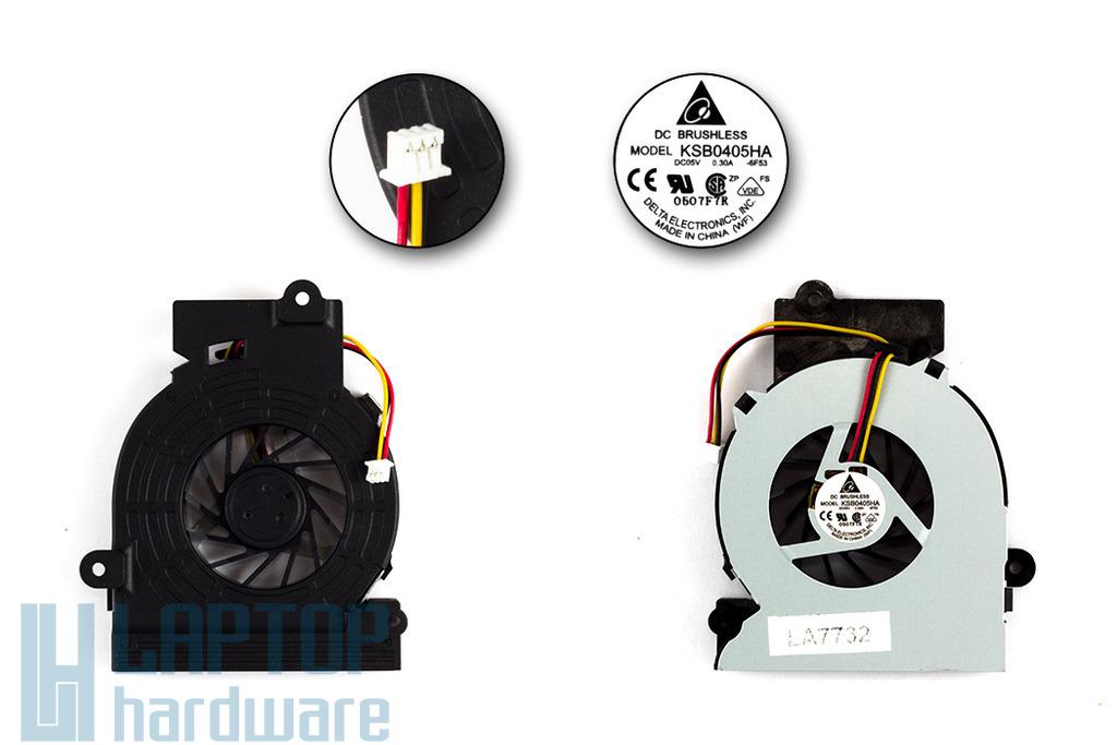 Fujitsu-Siemens Amilo L1310G, L7320GW, Pro V2030 gyári új laptop hűtő ventilátor (KSB0405HA)