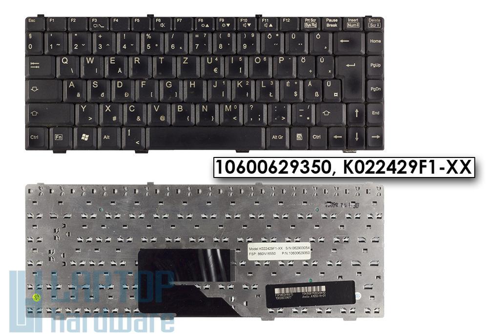Fujitsu-Siemens Amilo L1310G, Pa1538, Pro V2030 használt magyar matt laptop billentyűzet, 10600629350