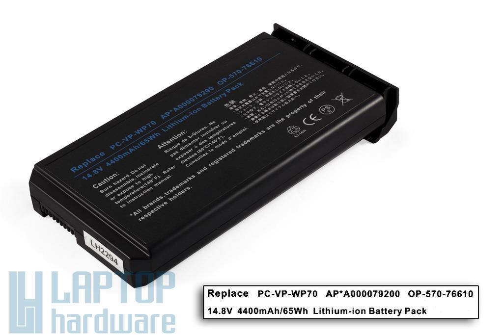 Fujitsu-Siemens Amilo L7300, Amilo Pro V2010 helyettesítő új 8 cellás laptop akku/akkumulátor (PC-VP-WP70)