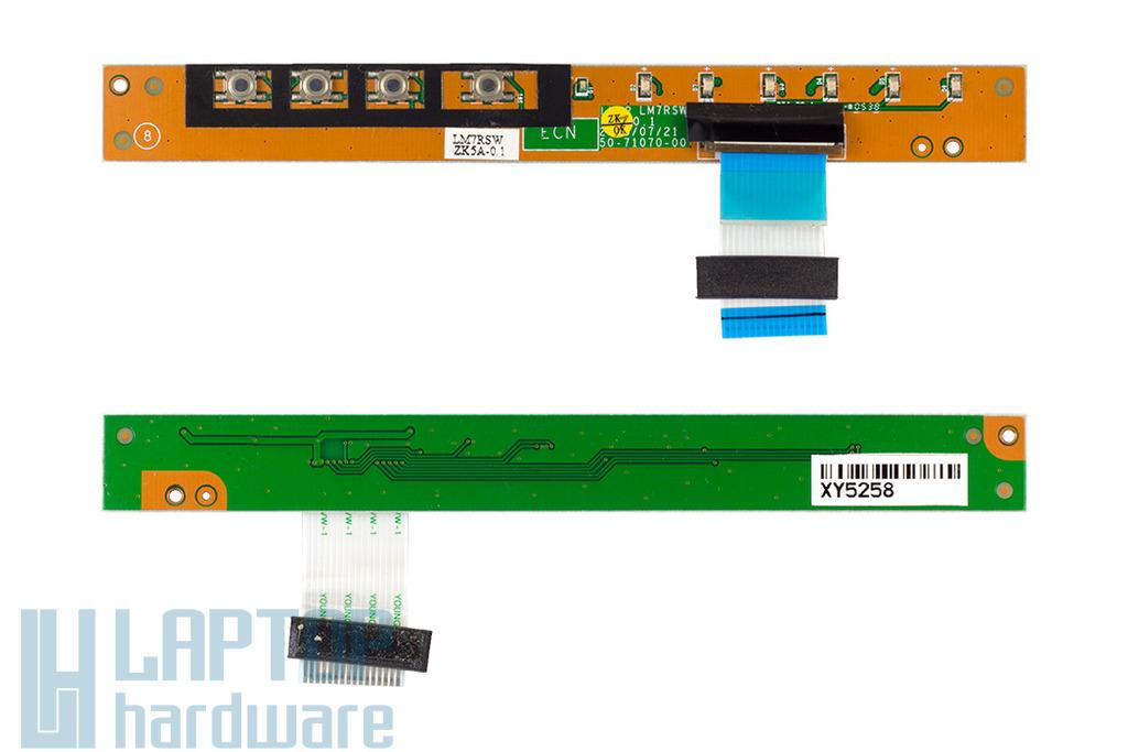 Fujitsu-Siemens Amilo L7320GW, Amilo Pro V2030 laptophoz használt bekapcsoló panel (50-71070-00)