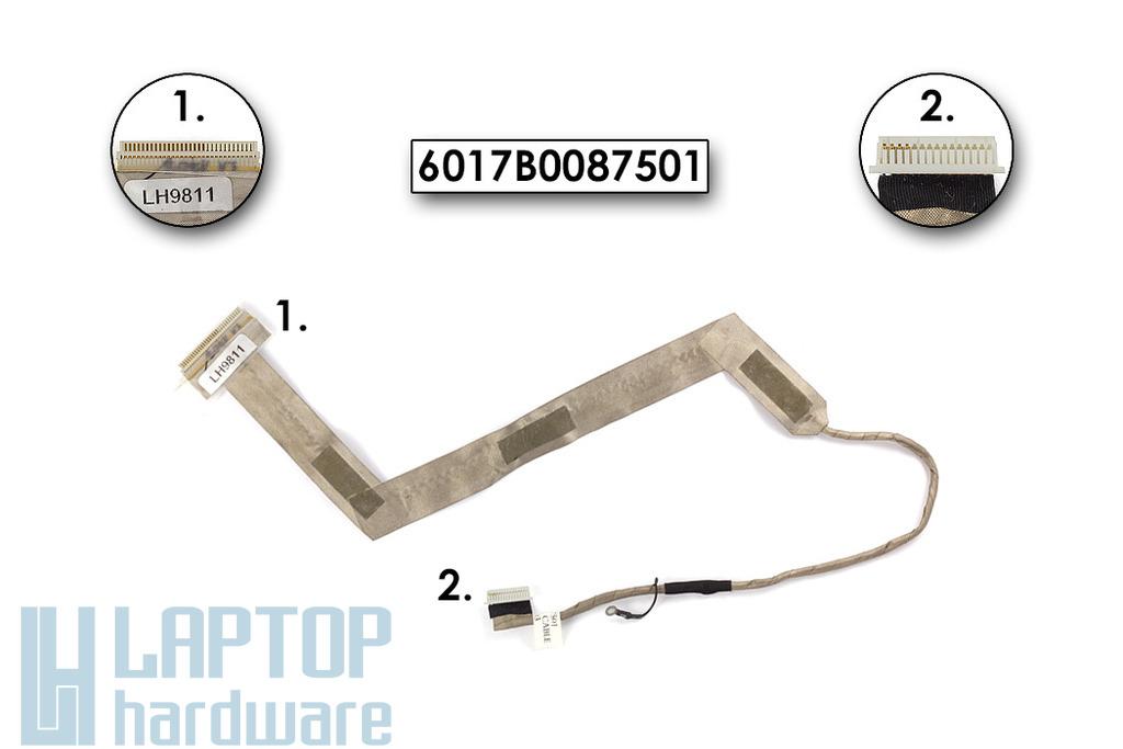 "Fujitsu-Siemens Amilo La1703 használt kijelző kábel 6017B0087501 (15,4"")"