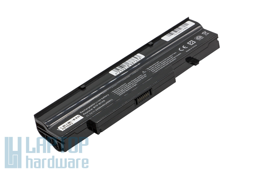 Fujitsu-Siemens Amilo LI1718, Amilo Pro V3405, Esprimo V5505 helyettesítő új 6 cellás laptop akku/akkumulátor (BTP-B4K8)