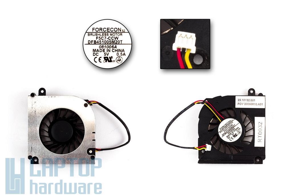 Fujitsu-Siemens Amilo Li1718, Li1720, Li2727 használt laptop hűtő ventilátor (23.10132.001)