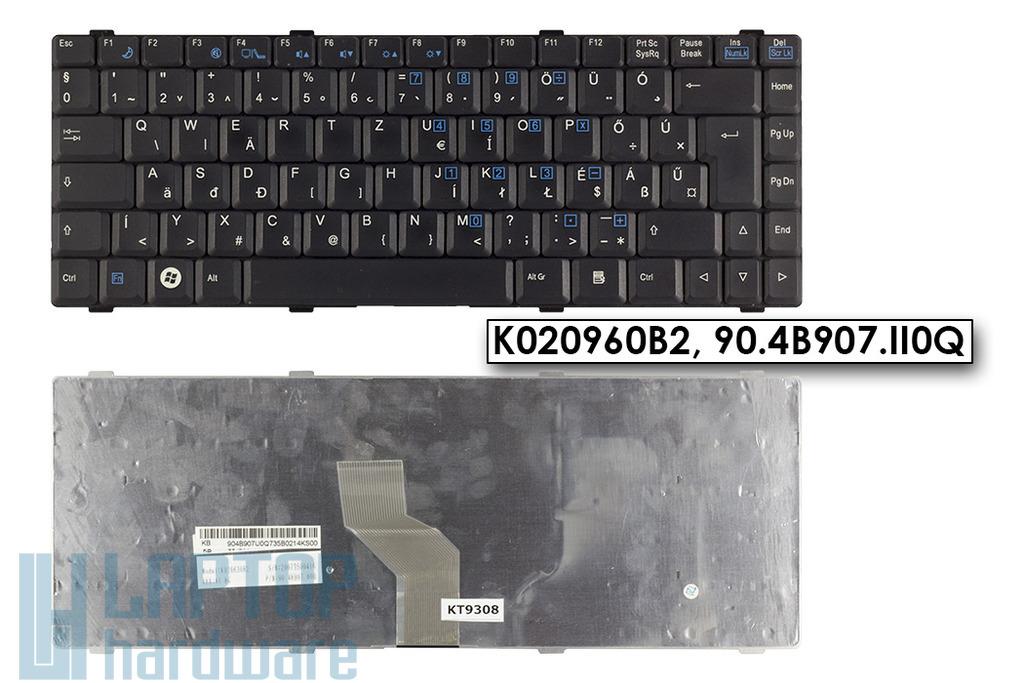 Fujitsu-Siemens Amilo Li1718, Li1720, Li2727 használt magyar laptop billentyűzet, K020960B2, 90.4B907.II0Q