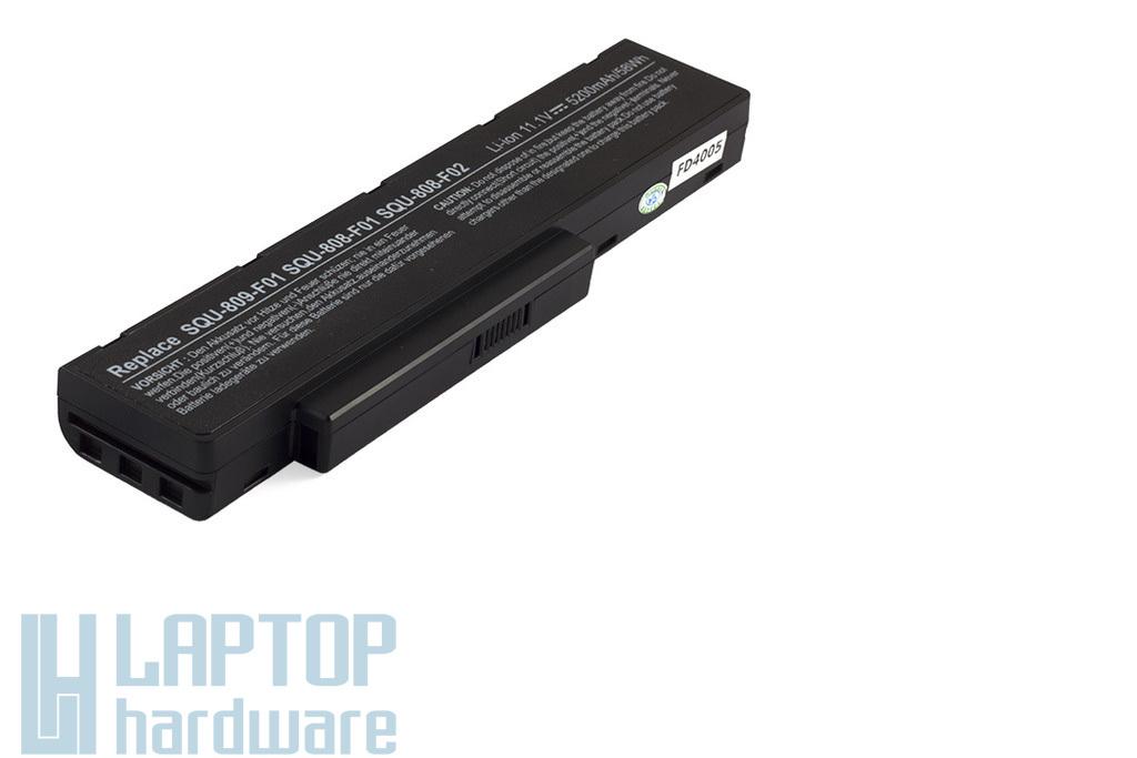 Fujitsu-Siemens Amilo Li3710, 3910, Pi3560 új helyettesítő laptop akku/akkumulátor  SQU-808-F01