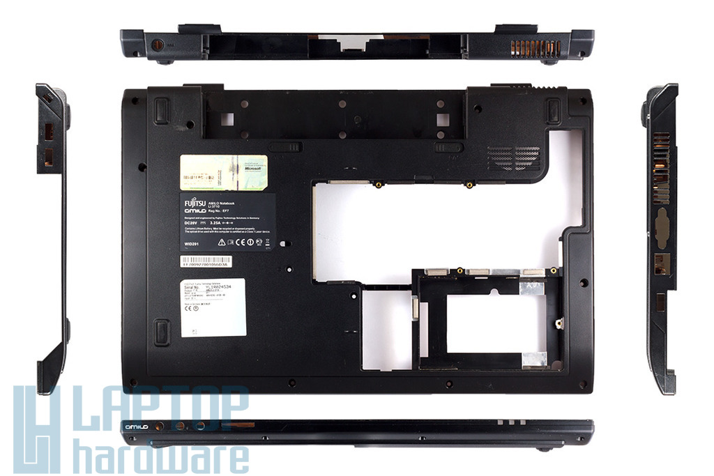 Fujitsu-Siemens Amilo Li3710 Alsó burkolat bottom case, base cover, EAEF7005010