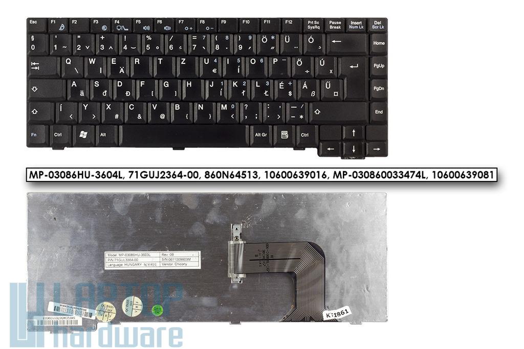 Fujitsu-Siemens Amilo M1450G, M6450G használt magyar laptop billentyűzet, MP-03086HU-3603L