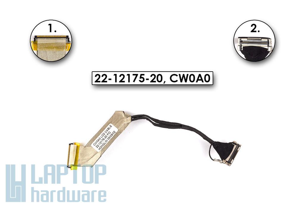 Fujitsu-Siemens Amilo Mini Ui3520 netbookhoz használt LCD kábel (22-12175-20, CW0A0)
