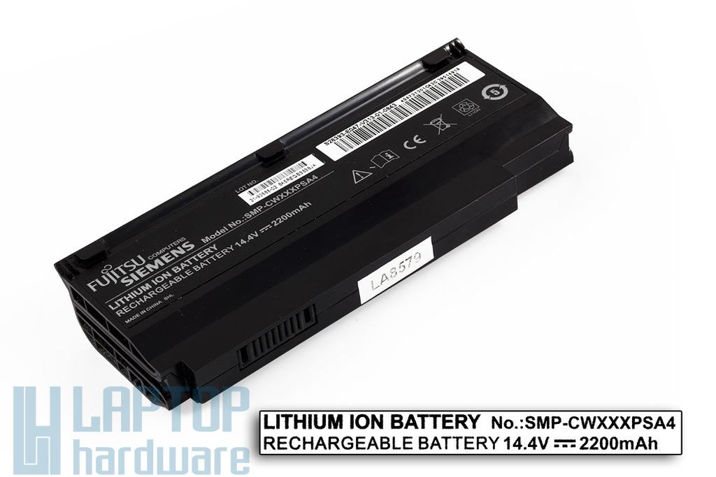 Fujitsu-Siemens Amilo Mini Ui3520, Ui3540, LifeBook M1010 használt 4 cellás 40%-os laptop akku/akkumulátor (SMP-CWXXXPSA4)