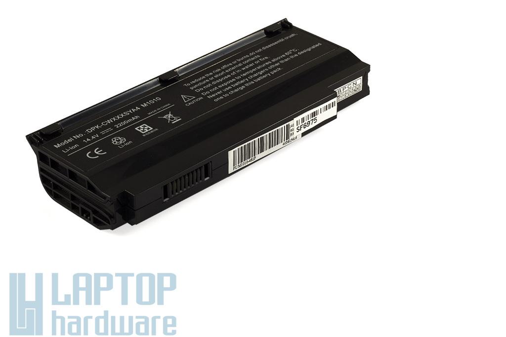 Fujitsu-Siemens Amilo Mini UI3520, LifeBook M1010 helyettesítő 4 cellás laptop akku/akkumulátor (SMP-CWXXXPSA4)